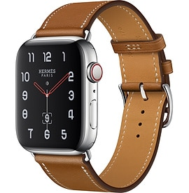 Apple Watch Hermès Series 4 Fauve Barenia Leather Single Tour