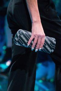 Balenciaga Black Monogram Minaudiere Bag - Spring 2019