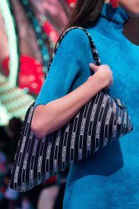 Balenciaga Black Monogram Tote Bag - Spring 2019