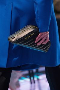 Balenciaga Black Quilted Clutch Bag - Spring 2019