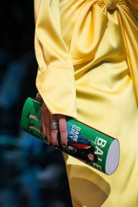 Balenciaga Green Printed Minaudiere Bag - Spring 2019