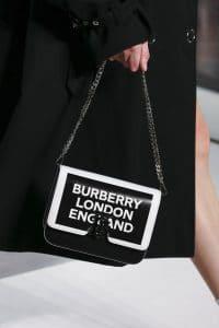 Burberry Black Logo Flap Bag - Spring 2019