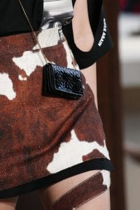 Burberry Black Mini Flap Bag - Spring 2019