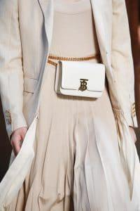 Burberry White Belt Bag - Spring 2019