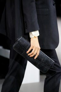 Celine Black Python Clutch Bag - Spring 2019