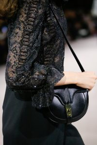 Celine Black Saddle Bag - Spring 2019