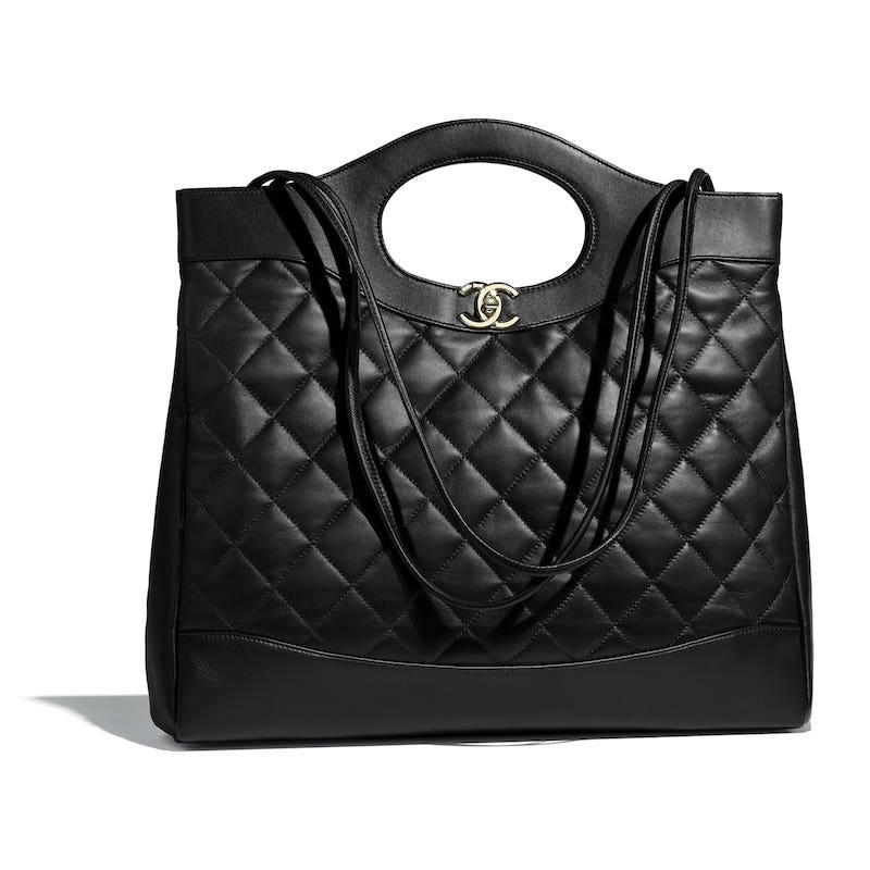 Black Chanel bag reference guide