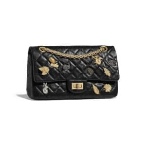 Chanel Black Lucky Charm 2.55 Reissue Size 225 Bag