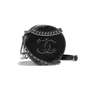 Chanel Black Round As Earth Evening Bag