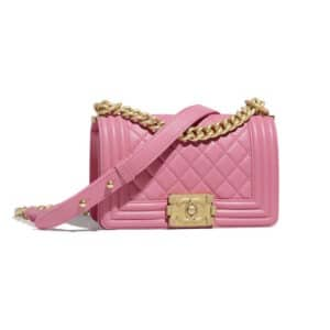 Chanel Pink Boy Chanel Small Flap Bag