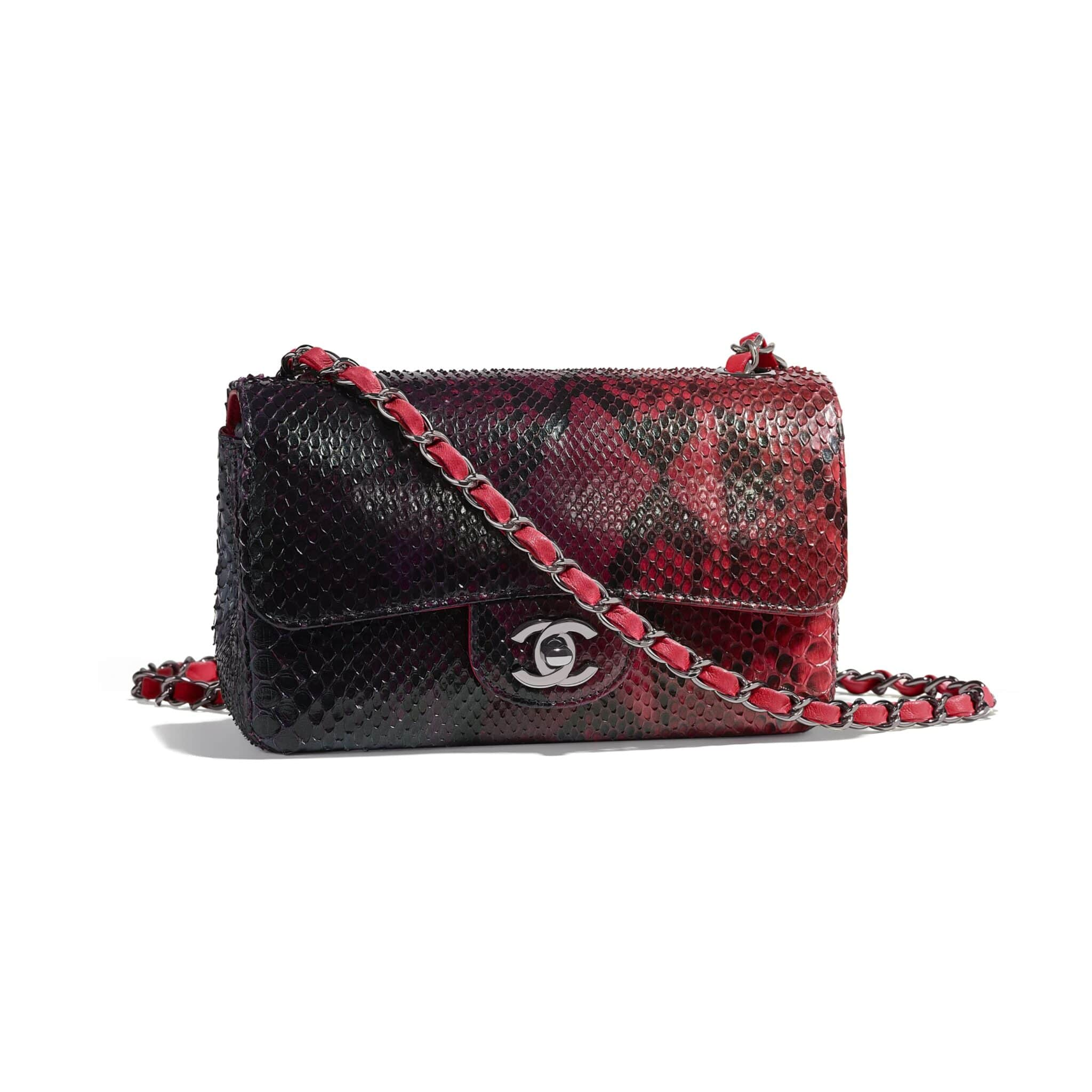 f32f1d1ac2a7 Chanel Fall/Winter 2018 Act 2 Bag Collection With The Chanel 31 Bag   Page Chanel  Python Classic Small Double Flap ...