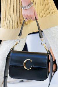Chloe Black Flap Bag - Spring 2019