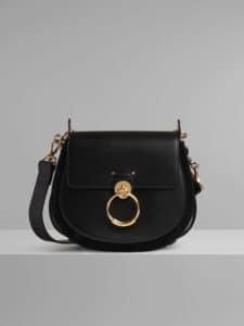 Chloe Black Large Tess Bag