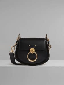 Chloe Black Small Tess Bag