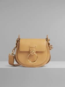 Chloe Bleached Brown Small Tess Bag