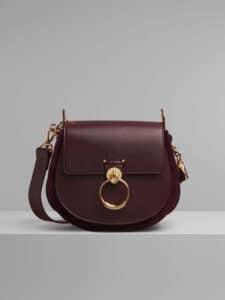 Chloe Burnt Brown Large Tess Bag