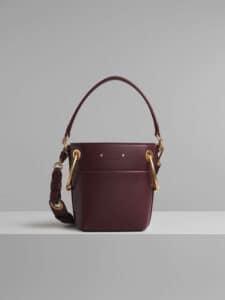 Chloe Burnt Brown Mini Roy Bucket Bag