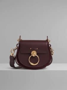 Chloe Burnt Brown Small Tess Bag