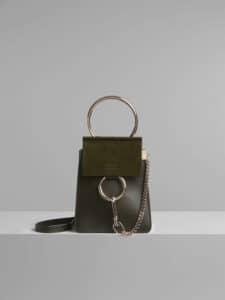 Chloe Deep Forest Faye Small Bracelet Bag