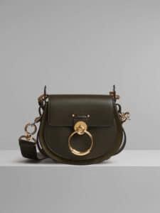 Chloe Deep Forest Small Tess Bag