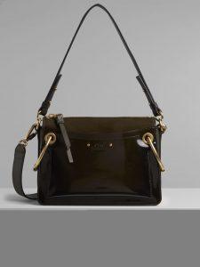 Chloe Deep Forest Spazzolato Sfumato Small Roy Bag