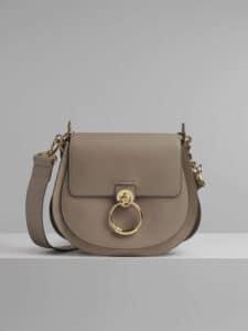 Chloe Motty Grey Large Tess Bag