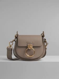 Chloe Motty Grey Small Tess Bag