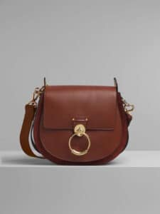 Chloe Sepia Brown Large Tess Bag