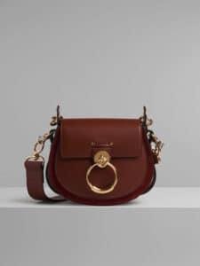 Chloe Sepia Brown Small Tess Bag
