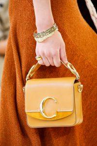 Chloe Tan Mini Flap Bag - Spring 2019