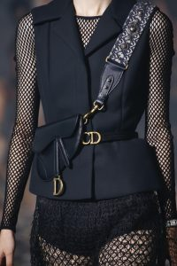 Dior Black Mini Saddle Bag 3 - Spring 2019