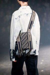 Dior Blue Oblique Canvas Messenger Bag - Spring 2019