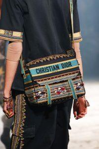 Dior Multicolor Embroidered Messenger Bag - Spring 2019