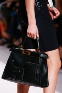 Fendi Black Peekaboo Bag - Spring 2019