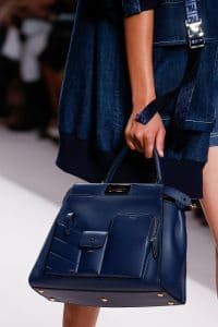 Fendi Blue Peekaboo Bag 2 - Spring 2019