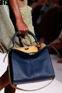 Fendi Blue Peekaboo Bag - Spring 2019
