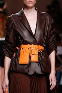 Fendi Orange Utility Belt Bag - Spring 2019