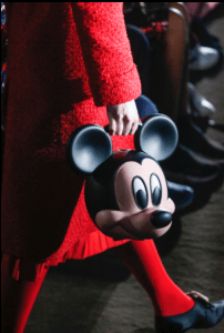 Gucci Black/Beige Mickey Mouse Top Handle Bag - Spring 2019