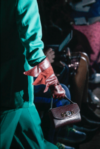 Gucci Brown Python Mini Flap Bag - Spring 2019