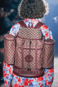 Gucci Burgundy GG Supreme Backpack Bag 2 - Spring 2019