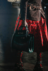 Gucci Green Crocodile Top Handle and Mini Flap Bag - Spring 2019