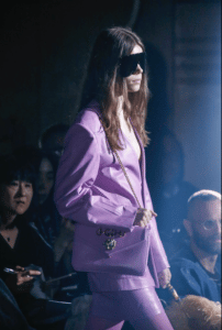 Gucci Purple Flap Bag - Spring 2019