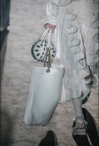 Gucci White Tote and Embellished Mini Round Bags - Spring 2019
