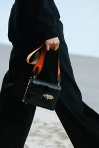 Hermes Black Crocodile Verrou Bag - Spring 2019