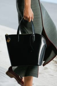 Hermes Black Top Handle Bag - Spring 2019