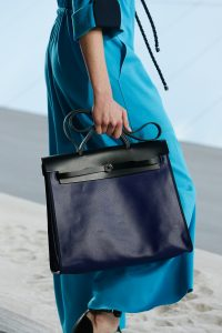 Hermes Black/Blue Herbag Bag - Spring 2019