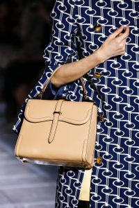 Prada Beige Boxy Top Handle Bag - Spring 2019