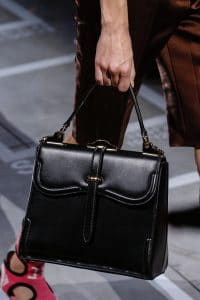 Prada Black Boxy Large Top Handle Bag - Spring 2019