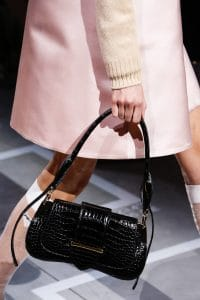 Prada Black Crocodile Sidonie Flap Bag - Spring 2019