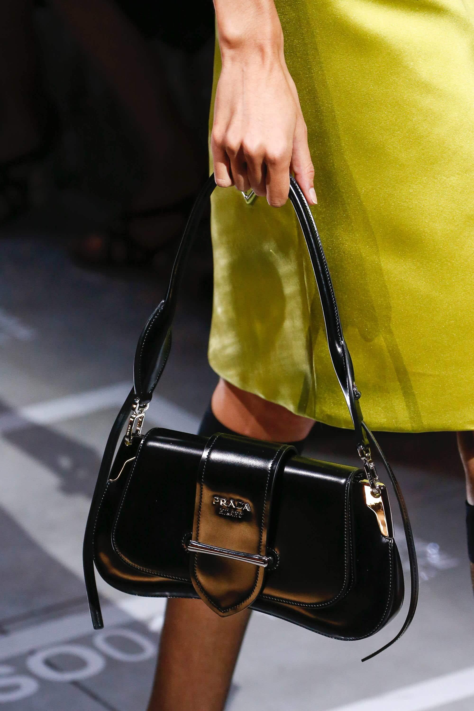 3879ed4aef3a Prada Black Patent Sidonie Flap Bag - Spring 2019